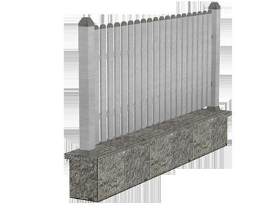 Aluminijumske ograde tarabice - Taurus