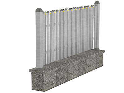 Aluminijumske ograde tarabice - Aries