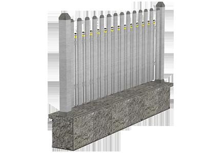 Aluminijumske ograde tarabice - Lupus
