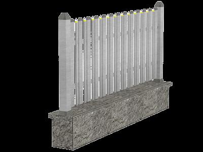 Aluminijumske ograde tarabice & palisada - Orion