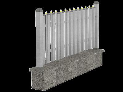 Aluminijumske ograde tarabice & palisada - Vela