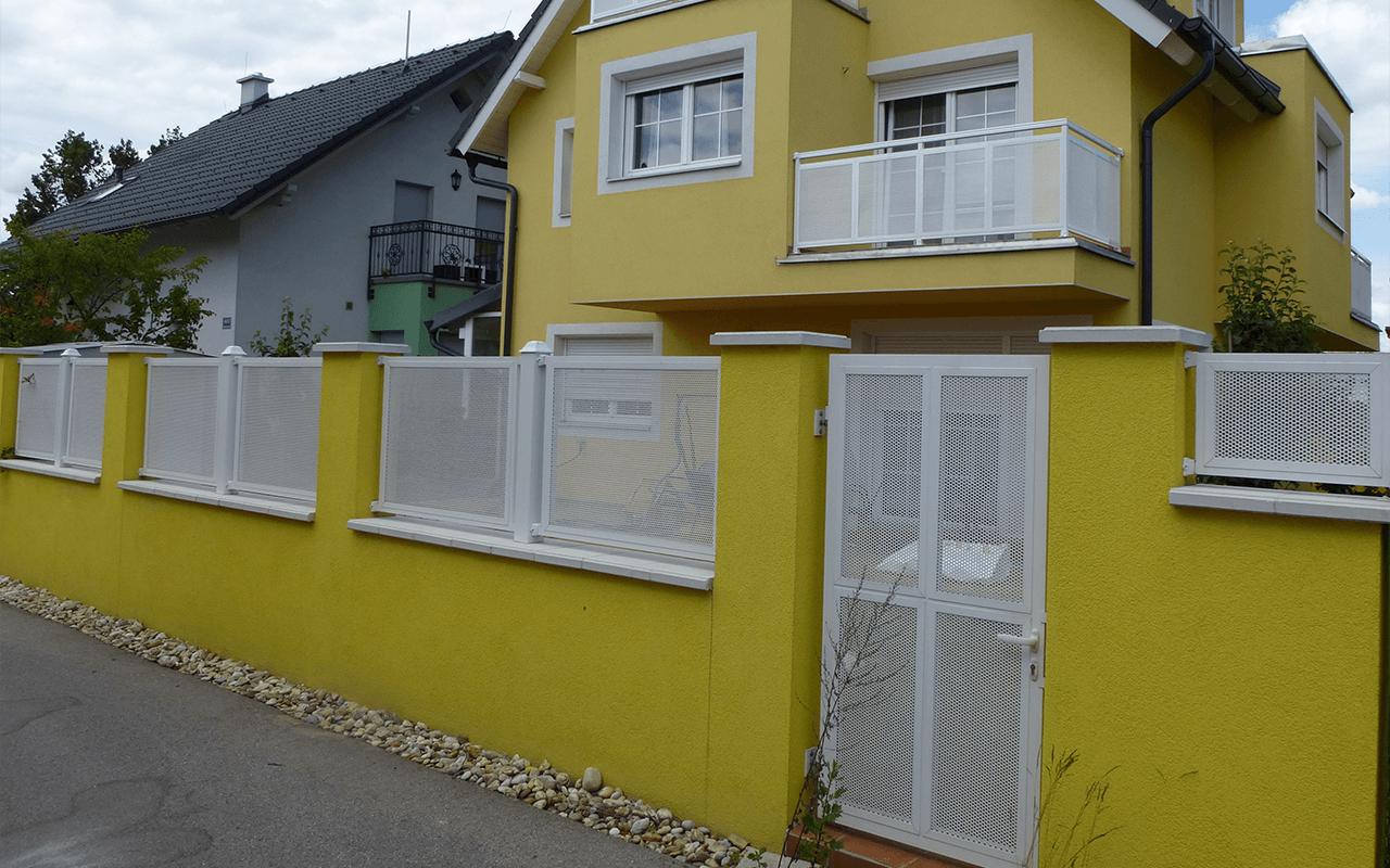 Aluminijumske jednokrilne kapije