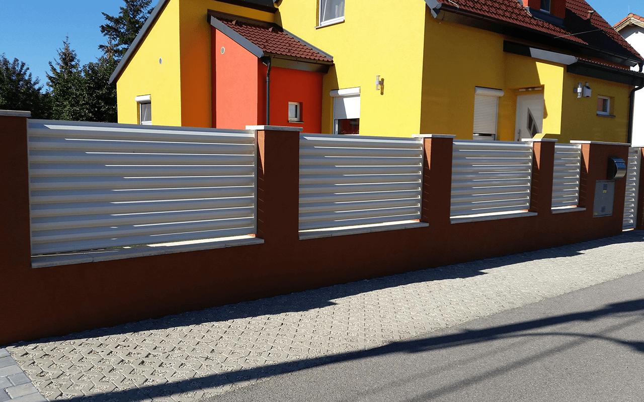 Aluminijumske ograde - modern