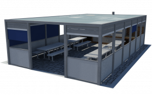 Aluminijumske nadstrešnice