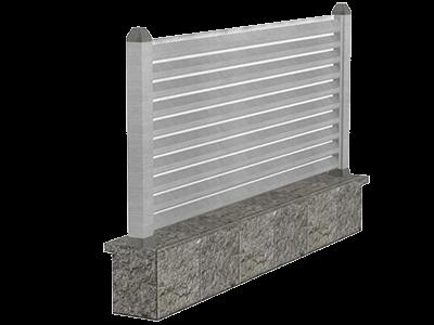 Aluminijumske ograde modern - Zeta