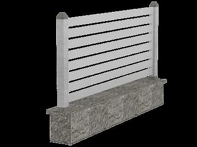 Aluminijumske ograde modern - Sagitta
